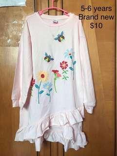 🚚 Sweet full sleeve frill dress brand new