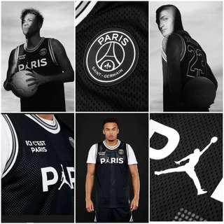 🚚 Authentic LIMITED EDITION JORDAN x PSG Mesh Top Basketball Jersey
