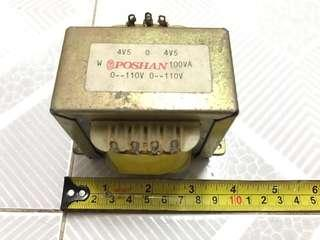電子火牛 AC 220->9V, 100VA