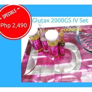 Glutax 2000GS IV Set