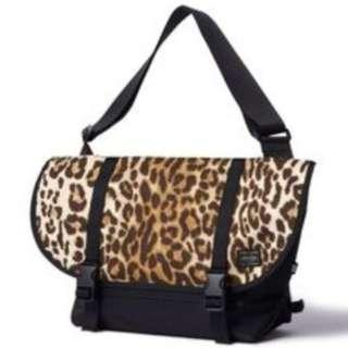 02028b507c Head Porter Leopard Print Small Sling Bag (Limited Edition)