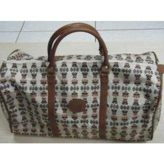 🚚 布質 編織造型手提行李包