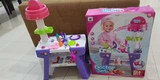 Mainan anak Doctor Set
