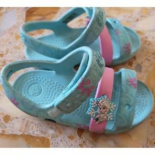 CROCS (Frozen: Elsa) Sandals - Size8