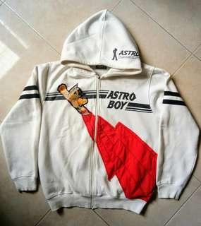 Jaket sweter hoodie hologram astro boy japan