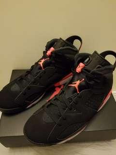 best service a3ef0 440ee Nike Air Jordan 6 infrared US 10
