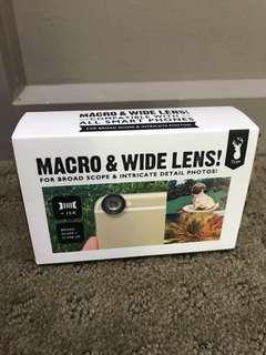 Macro and Wide Phone Lens