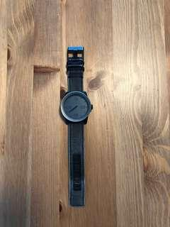 Nixon Watch (Take Charge / The Corporal) 48 MM Stainless Steel Japan Movement  - Grey Color