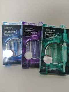 [韓國直送] [3盒包平郵] Mediheal Masking Layering Ampoule Shot Series 4ml x 3