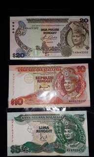 Duit Lama Malaysia (UNC)