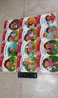 Dora Phonics Reading Program 12 books