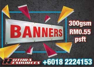 Tarpaulin Banner