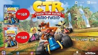 PS4/NS Crash Team Racing Nitro-Fueled