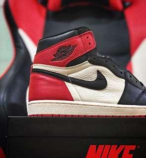 Nike Air Jordan 1 bred toe