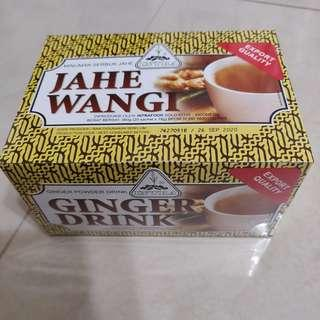 WELLNESS: INDONESIA GINGER DRINK