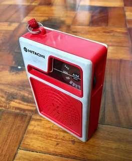Vintage Functional Hitachi Transistor Radio