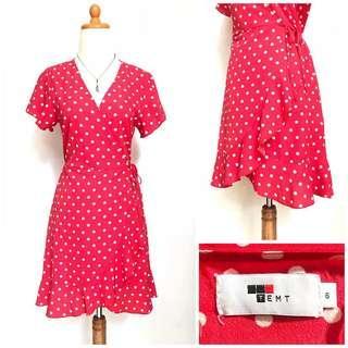 Temt polka dot dress