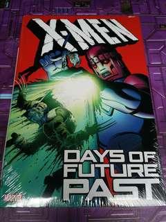 X-MEN DAYS OF THE FUTURE PAST marvel comics (hardcover)