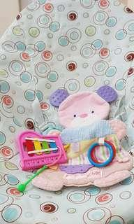 Baby bouncer merk Bright Starts plus baby toys