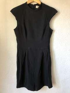 Black Cameo Playsuit Size Small