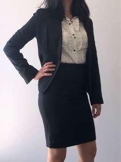 Cue Suit Jacket & Skirt