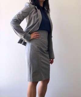 Cue Suit Jacket & Pencil Skirt