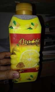 Minuman diet (D'lemonie dan ramuan jahe ranjani)