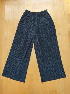 Topshop Cropped Wide Pant