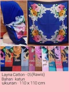 Hijab rawis bunga 05