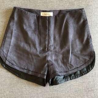 Bec & Bridge Mauve shorts