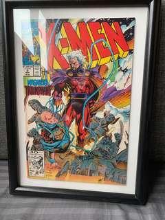 X-Men Magneto Triumphant framed