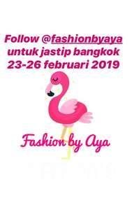 Jastip bangkok 23 - 26 februari 2019