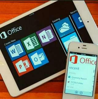 👍Mac版 Office ipad iphone macbook air imac life time 長用