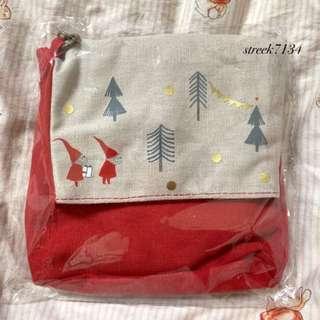 星巴克耶誕風側背包 斜背包