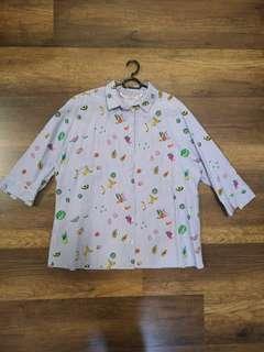 Zara cute fruits shirt