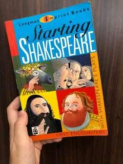 🚚 Starting Shakespeare with Shakespeare's Plays