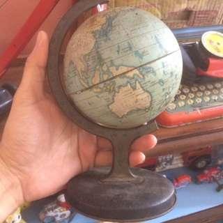 Vintage Tin Toy Globe England