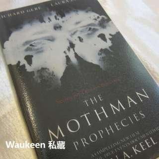 天蛾人電影封面版 The Mothman Prophecies John A. Keel UFO 幽浮 靈異事件 李察吉爾 Richard Gere 電影原著