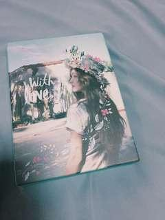 Kpop Album Jessica 1st Mini Album With Love, J