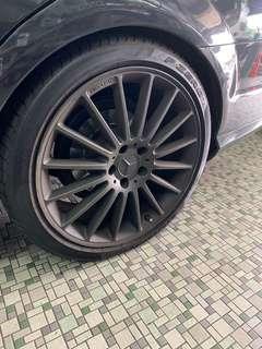 Mercedes 19 Inch AMG rims
