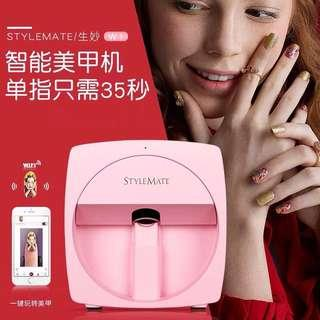 With 3D digital nail printer technology digital nail art machine for salon use