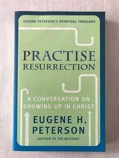 Eugene Peterson Practise Resurrection (Price Includes Mailing)
