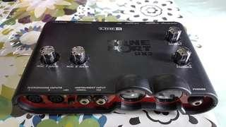 Line 6 interface tone port ux2