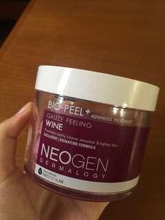 Neogen bio peel wine pad