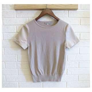 日本品牌 NATURAL BEAUTY 日本製設計感針織衫 38