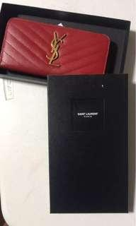 Ysl wallet (authentic)