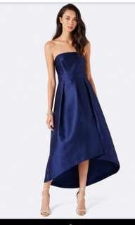 Forever New Kenzie Strapless Wrap maxi Dress