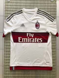 033ee3966c4 Adidas💯% Authentic white AC Milan away jersey with  Bacca 70  nameset