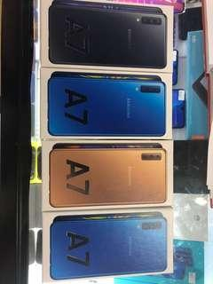 SAMSUNG A7 2018 (NEW SEALBOX)