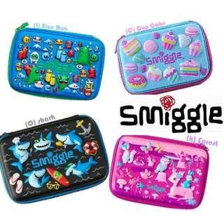 SMIGGLE PENCIL CASE PENCIL BOX HARDTOP COVER FREE SHIPPING